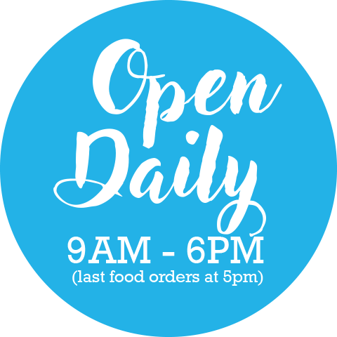 The Boathouse Plymouth - Open Daily Sticker
