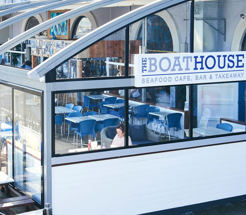 The Boathouse Plymouth Seafood Café, Bar and Takeaway Mobile Slide 3